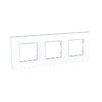 Рамка 3 поста Schneider Electric Unica quadro MGU2.706.18 Белый