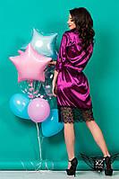 Коротенькое платье с кружевом и гипюром