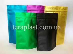 Пакеты металлизированные дой-пак с зип застежкой