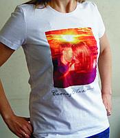 Печать на футболках — нанесение логотипа, любого текста, надписи