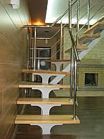 Лестницы на прямом косоуре, фото 1