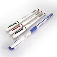 Ручка гелиевая  AIHAO 801 (синяя, черная, красная, зеленая)