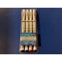 Набор ручек гелиевых  AIHAO 801 (4 цвета)