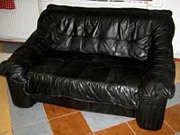 Шикарный комплект кожаной мягкой мебели 3+2+1. Качественная мебель из Германии.