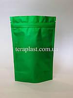 Дой-Пак 250г зеленый 140х240 с зип замком
