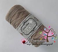 Трикотажная пряжа Celine ribbon Peria, беж