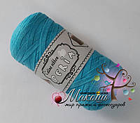Трикотажная пряжа Celine ribbon Peria, бирюза