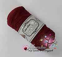 Трикотажная пряжа Celine ribbon Peria, бордо