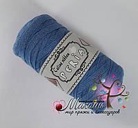 Трикотажная пряжа Celine ribbon Peria, голубой