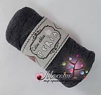 Трикотажная пряжа Celine ribbon Peria, графит