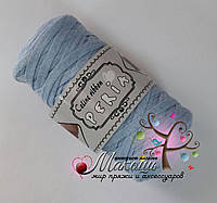 Трикотажная пряжа Celine ribbon Peria, св. голубой