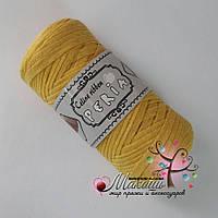 Трикотажная пряжа Celine ribbon Peria, св. желтый