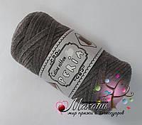 Трикотажная пряжа Celine ribbon Peria, т. серый
