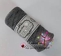 Трикотажная пряжа Celine ribbon Peria, серый