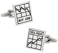 Запонки Bow Tie House - лучший подарок для trader 05563