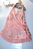 Летний сарафан для девочки нежно-розовый , фото 1
