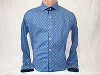 Мужская рубашка с длинным рукавом YChromosome