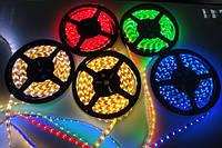 Светодиодная лента LED 5050-60 RGB, герметичная, фото 1