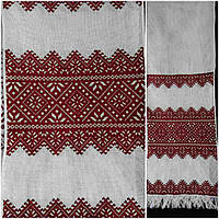 Свадебный рушник на канве, ручная работа, 180х33 см., 330/280 (цена за 1 шт. + 50 гр.)