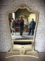 Консольный столик с зеркалом в стиле барокко рококо