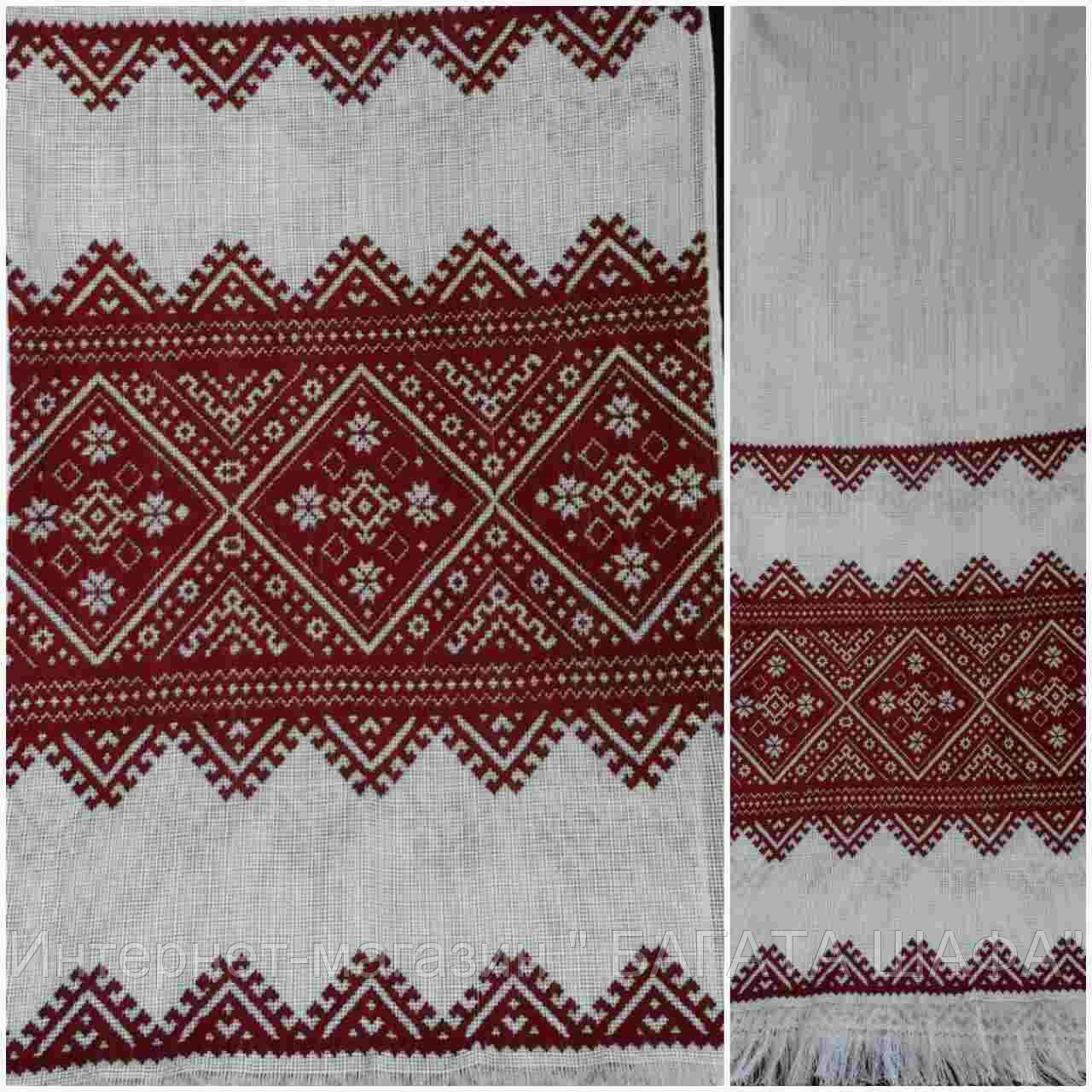 Свадебный рушник на канве, ручная работа, 180х33 см., 330/280 (цена за 1 шт. + 50 гр.), фото 1