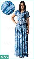 Летнее легкое платье из хлопка