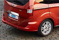 Накладка над номером на багажник Omsa на Ford Courier 2014