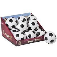 Мяч Karlie-Flamingo Soccerball для собак синтетическая кожа, 10 см