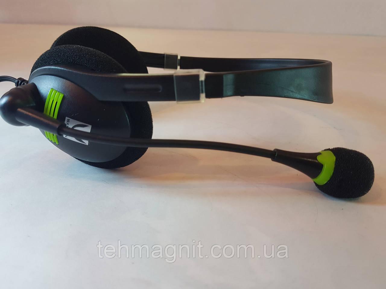 Навушники для комп'ютера з мікрофоном WX520MV