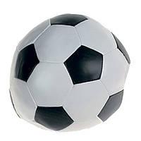 Мяч Karlie-Flamingo Soccerball Blackwhite для собак синтетическая кожа, 15 см
