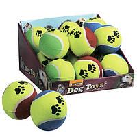 Мяч Karlie-Flamingo Tennisball Fluo для собак резина, 9.5 см