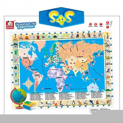 Интерактивная Сенсорная Карта Мира для детей - Super Naxodka в Киеве