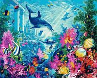 Картина для рисования Mariposa Водный мир Худ. Стив Рид (MR-Q2111) 40 х 50 см