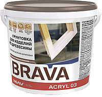 Грунтовка BRAVA ACRYL 03 для изделий из древесины (ВД-АК-03)