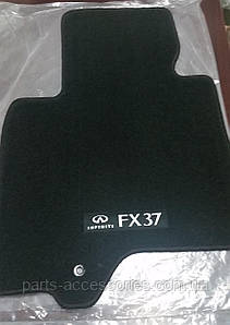 Infiniti FX37 2013 коврики в салон велюровые черные Нвоые Оригинальные
