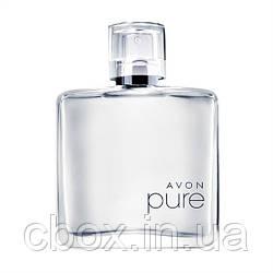 Pure  for him мужская туалетная вода, 75 мл,Эйвон, Avon, 37281