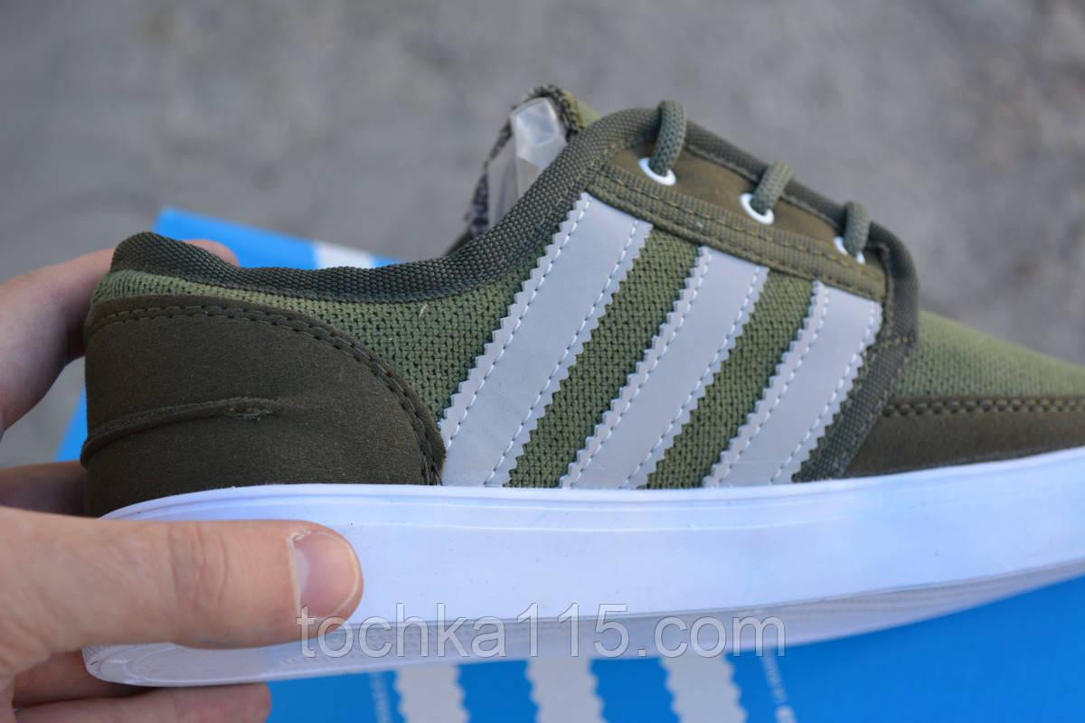7061471a Мужские кеды Adidas Gazelle зеленые, копия от интернет-магазина ...