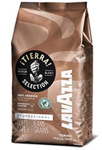 Кава Lavazza Tierra в зернах 1 кг (8000070043329)