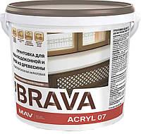 Грунтовка BRAVA ACRYL 07 для доски подоконной и дверей из древесины (ВД-АК-07)