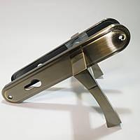 Ручка на планке для входных дверей YU-TL Гранада AB (старая бронза)