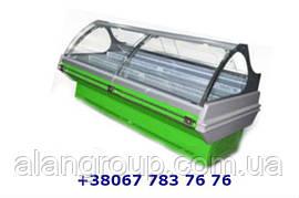 Холодильная витрина Сфера Эко статическое  охлаждение