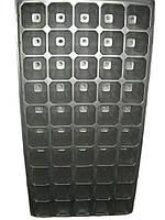 Кассета для рассады 50 ячеек, глубокая,размер кассеты 54х28см,толщина стенки 1мм