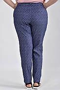 Женские брюки с ромашками большие размеры Б027 размер 42-74, фото 3