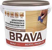 Шпатлевка BRAVA ACRYL PROFI-10 для мебели и столярных изделий (ПРОФИ-10)