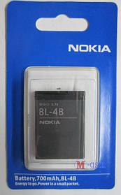 Аккумулятор Nokia BL-4B для Nokia 2630, 2660, 2760, 5000, 6111, 7070 (700 mA/ч) ААА класс