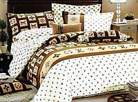 Двуспальный с евро простынью комплект  LOUIS VUITTON новый