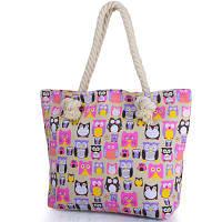 Женская пляжная тканевая сумка ETERNO (ЭТЕРНО) DCA-206-01