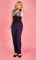 Женские летние брюки из штапеля