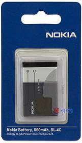 Аккумулятор Nokia BL-4C для Nokia 1280, 3110c, X2, 5130 (860 mA/ч) ААА класс