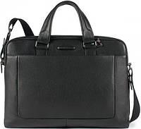 Презентабельный мужской портфель из натуральной кожи Piquadro Modus, CA3335MO_N черный